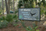St. Marks National Wildlife Refuge sign