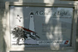 St. Marks National Wildlife Refuge Lighthouse sign.