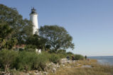 View of St. Marks lighthouse.