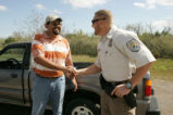 Refuge visitor thanks U.S. Fish and Wildlife Service Law enforcement.
