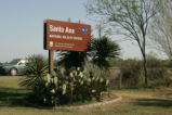 Santa Ana National Wildlife Refuge sign.