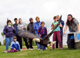 Eagle Release During Migratory Bird Day 2005