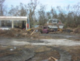 Hit hard by hurricane Ike.
